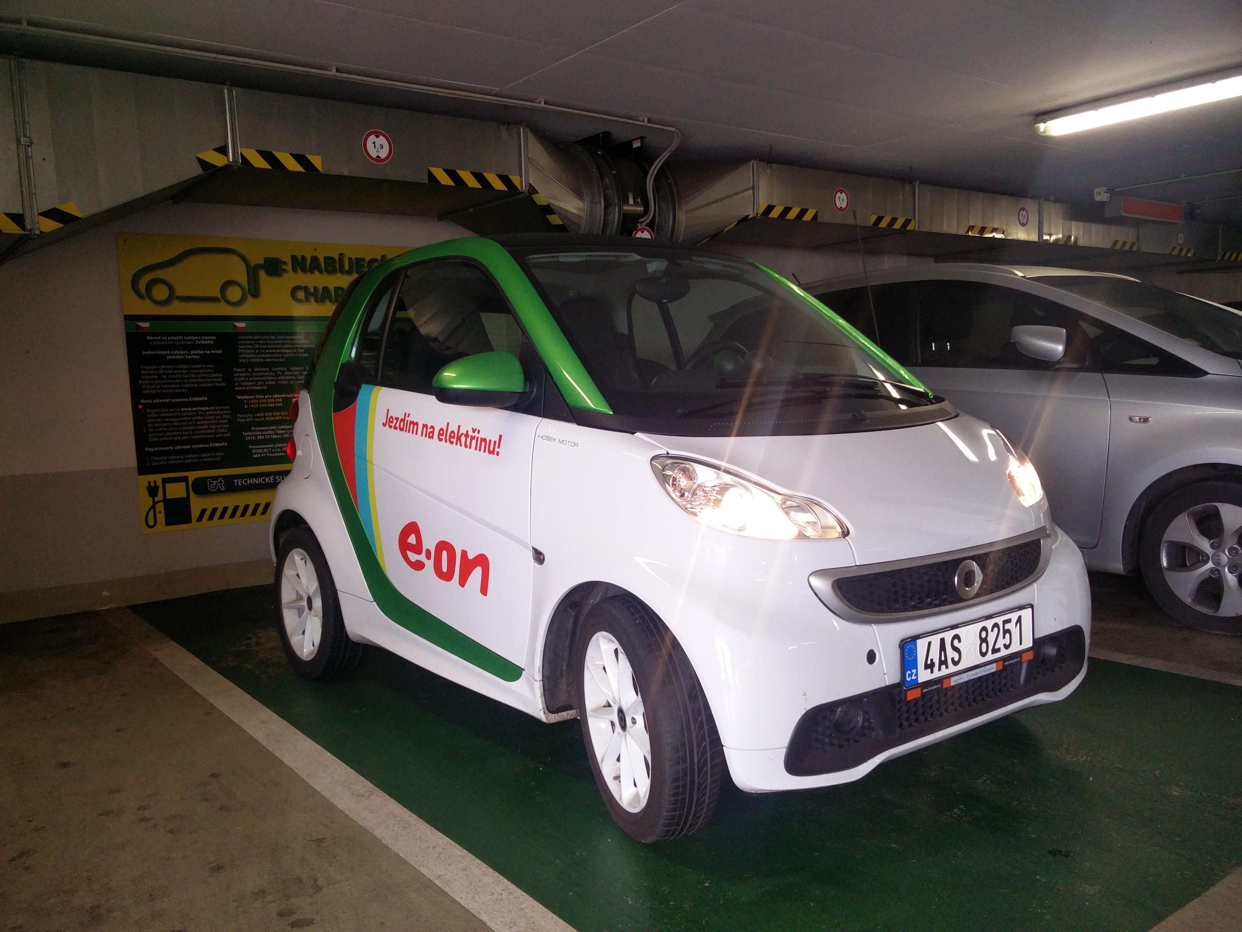 Elektromobilita v Táboře