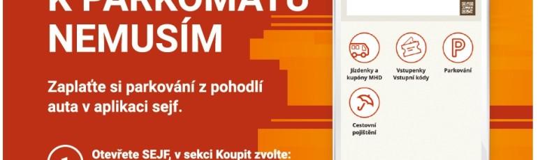 SEJF leták