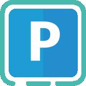Parkovací lístek v mobilu ParkSimply logo_2
